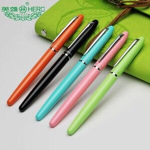 4PCS [HERO] 868A Classical Series Fountain Pen Ultra-fine Calligraphy Fountain Pen Iridium