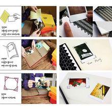 new PVC Paper Sticker DIY Memo Stickers Scrapbook Photo Album Frame Corner Sticker Home Decor 14.5cmX10cm/15mmx10 mm