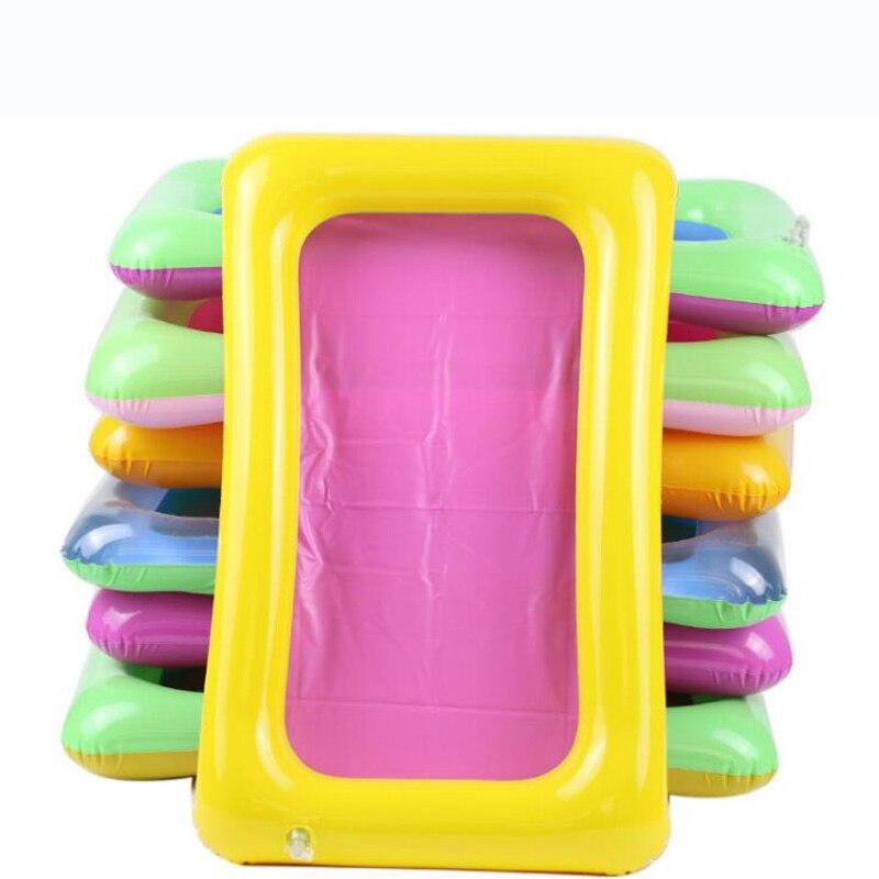 New mini pvc inflatable playdough sand accessories tool toys