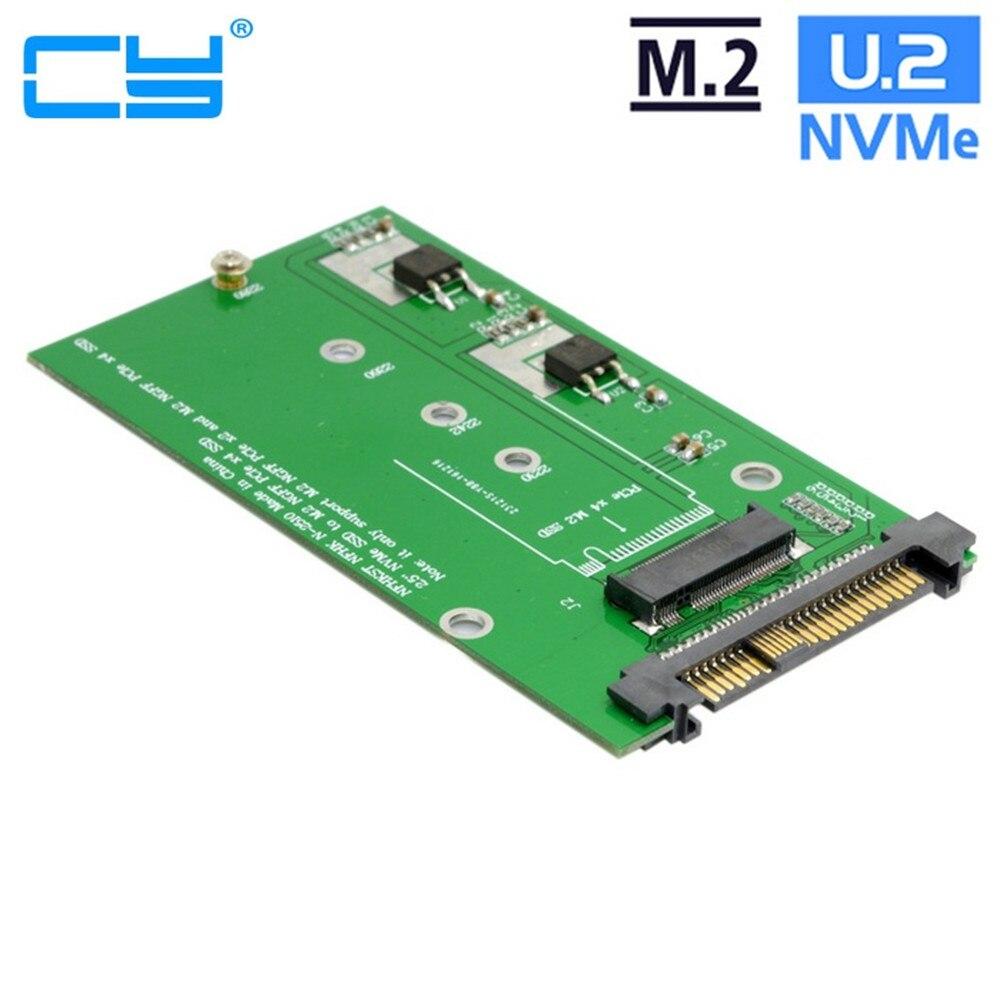 SFF-8639 NVME U.2 para Adaptador PCIe SSD NGFF M.2 M-chave para Substituir...
