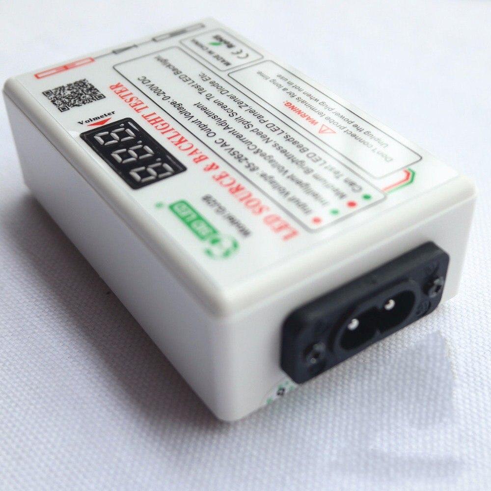اختبار إضاءة خلفية LED ، ذكي ، متوافق مع جميع الأحجام, 0-250 فولت ، أداة اختبار إضاءة خلفية ، للتلفاز أو الكمبيوتر المحمول ، شاشة LED ، شحن مجاني
