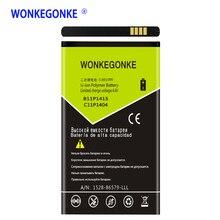 2200 mah WONKEGONKE per Asus ZenFone 4 C11P1404 B11P1415 ZenFone4 A400CG ZenFone Go 4.5 ZC451TG Z00SD Batterie Bateria