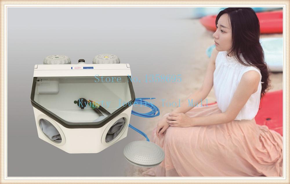 Sableuse électrique de Machine de sablage de bijoux de Machine portative de sablage