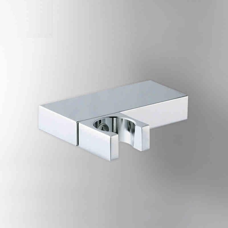 دش يدوي للحمام ، صنبور نحاسي مطلي بالكروم ، حامل حائط للمرحاض ، AZPJ007