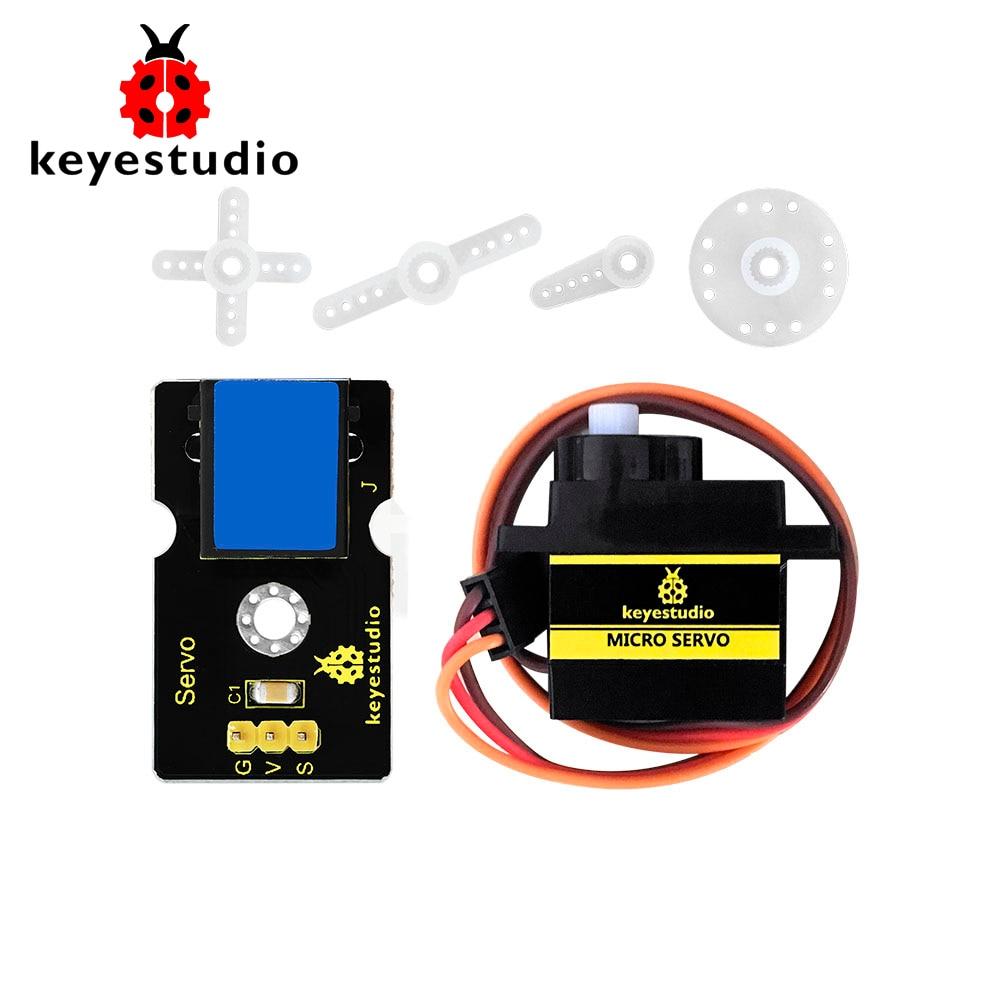 Keyestudio EASY plug (сервомодуль + микро сервоп