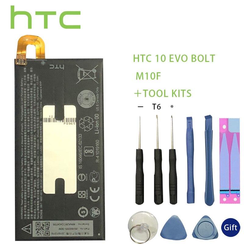 HTC 10 EVO Bolt M10f B2PYB100 Battery 3200mAh Backup Bateria Long Standby Time +Tools For HTC 10 EVO Bolt M10f