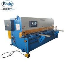 Rbqlty cnc máquina hidráulica de corte oscilante