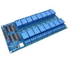 2016 China Großhandel 5V 16 Kanal Relais Modul für arduino ARM PIC AVR DSP Elektronische Relais Platte Gürtel optokoppler isolation