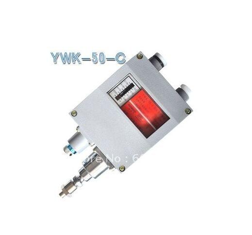 Controlador de presión controlador de manómetro YWK-50-C relé de interruptor de presión