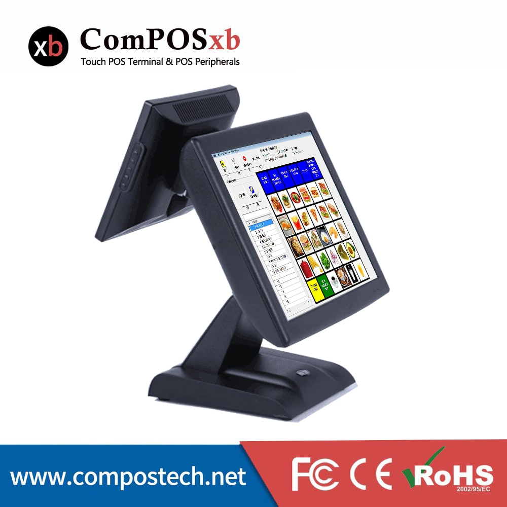 Windows Cash register 15 Inch Touch ScreenCash Register  Point Of Sale POS All In One