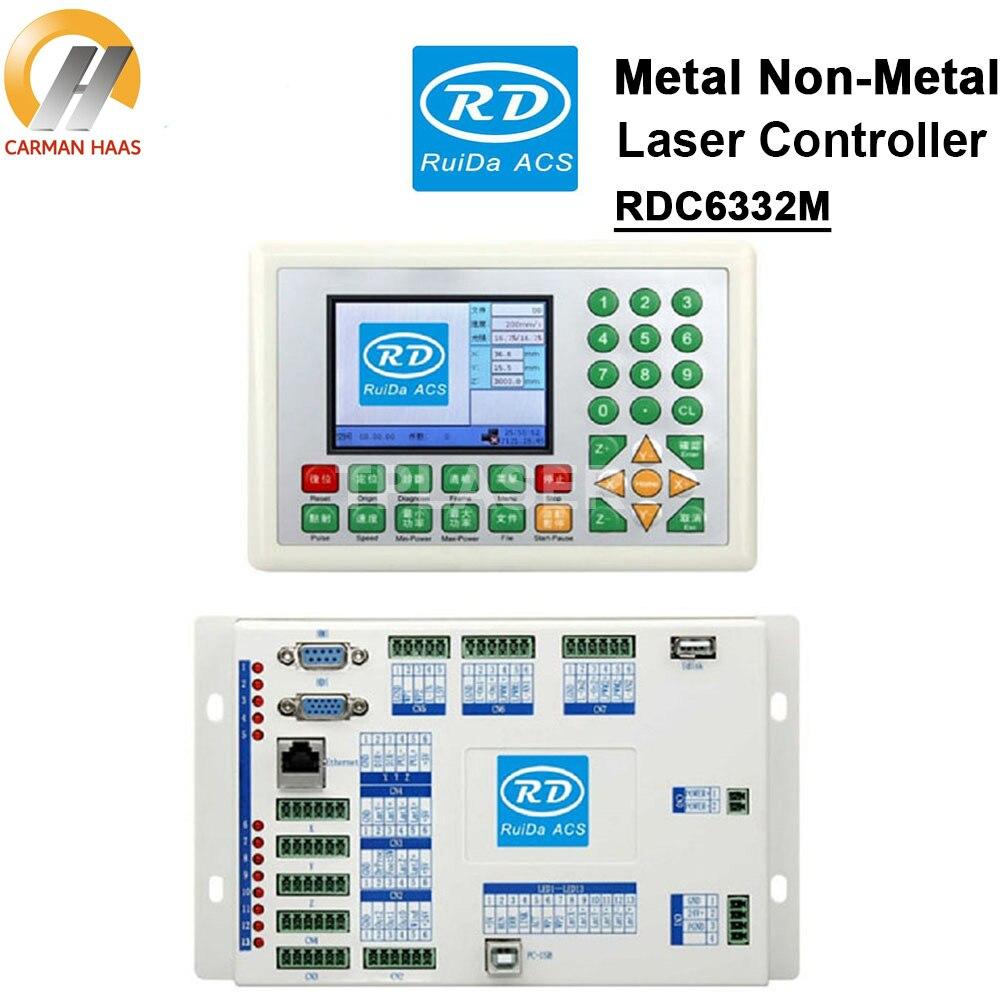 2018 Ruida RDC6332M Metal and Non metal Laser Cutting Control Card  Laser Cutting Controller for Engraving and Cutting