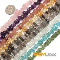 natural 6x8mm assorted stones freeform chips gravel nugget beads for jewelry making strand 15diy loose jewelry beads