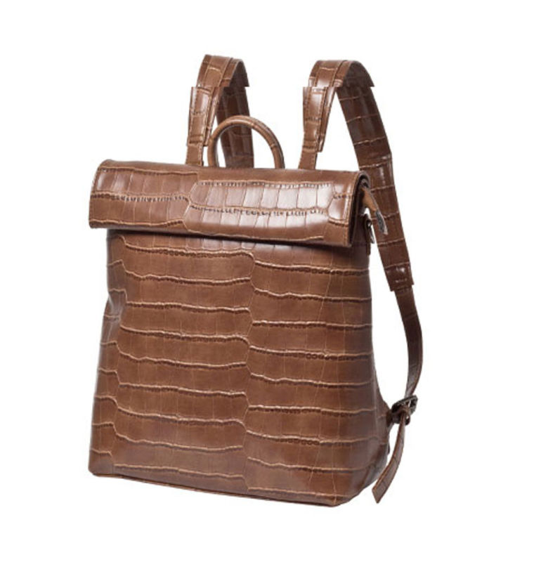 Masculino estudante mochila moda bolsa de couro vintage feminino tote falso mochilas