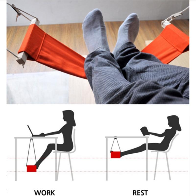 Открытый креативный портативный Досуг для учебы Офисная подставка ног стол