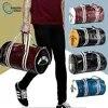 Bolsa de gimnasio de cuero PU de calidad para hombre y mujer bolsa para calzado deportivo femenino bolsa de Yoga para Fitness por encima del hombro bolsos de viaje