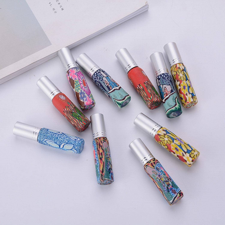 10pcs 10ml Travel Portable Empty Convenient Spray Bottle with 2pcs Funnel for Makeup Cosmetic Perfume Random Color
