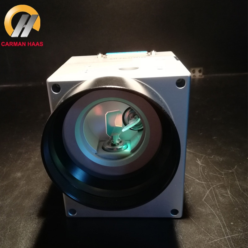 Economic 10mm 12mm CO2 Laser Galvo Scanner Digital Galvanometer Head For C02 Laser Marking enlarge