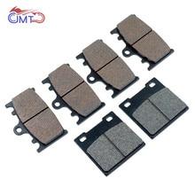 For Suzuki GSXR600 1999-2003 GSXR750 2000-2003 TL1000S 1997-2001 Front Rear Brake Pads Set Kit