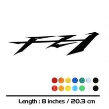 2 X nouvelles ventes MOTO vélo réservoir de carburant roues carénage cahier bagages casque MOTO autocollant décalcomanies pour YAMAHA FZ1