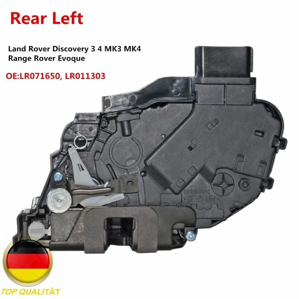 AP03 привод замка задней левой двери для Land Rover Discovery 3 4 MK3 MK4 Range Rover Evoque LR071650, LR011303