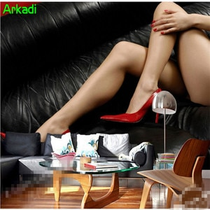 3d sexy beauty modern aesthetic character high heels tooling background wall mall store shoes bag shop clothing store background
