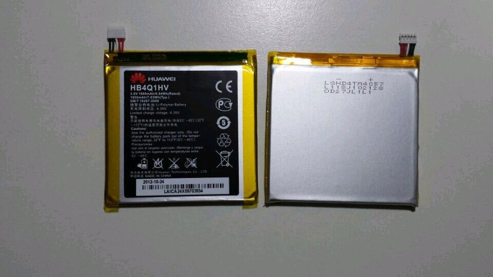 100% оригинал 3,8 в 1850 мАч Оригинальный аккумулятор для HUAWEI s8600 p1 u9200 ascend мобильный телефон HB4Q1HV hb4m1 u9500 d1