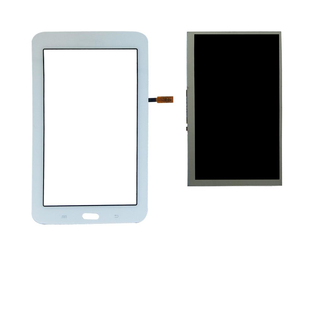 Сенсорный экран дигитайзер панель + ЖК-дисплей для Samsung Galaxy Tab 3 Lite SM-T110 T113 T113NU LCD запасные части