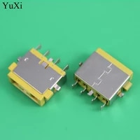 yuxi yellow square mouth dc jack for lenovo super notebooksquare mouth