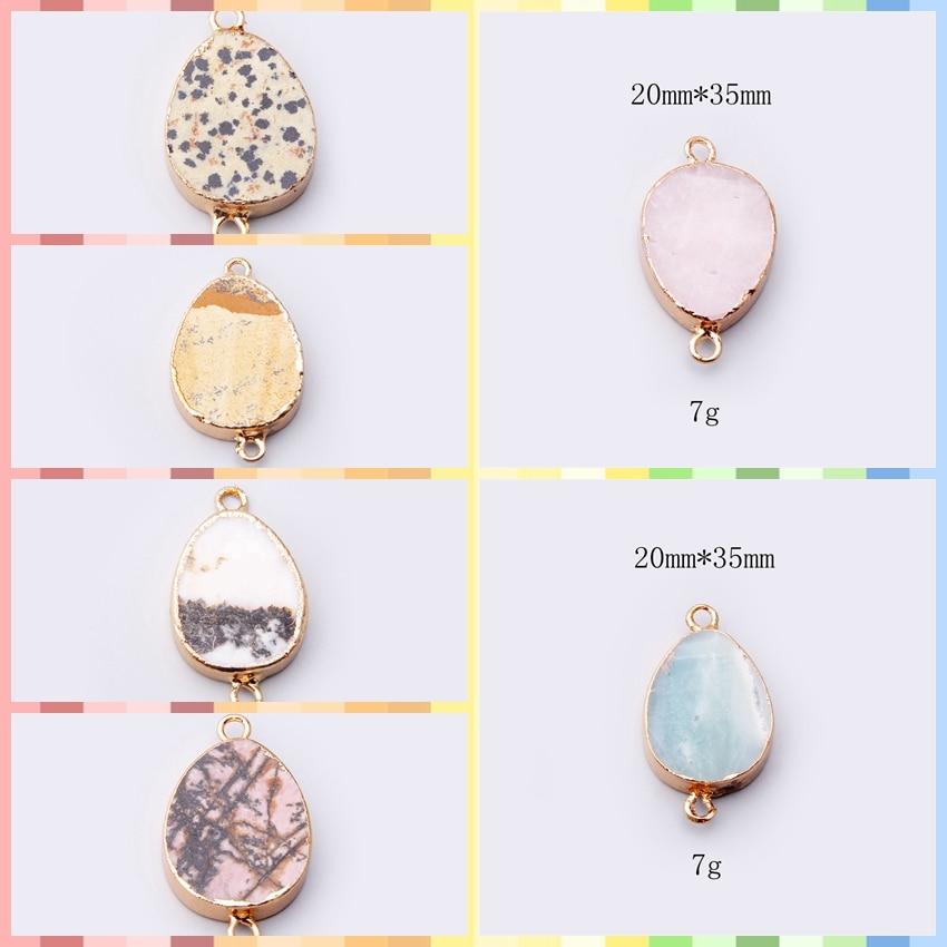 Gemas de ágata drusa curativas colgante de piedra natural oro rosa azul péndulo druzy crudo COLLAR COLGANTE de piedra para mujer péndulo