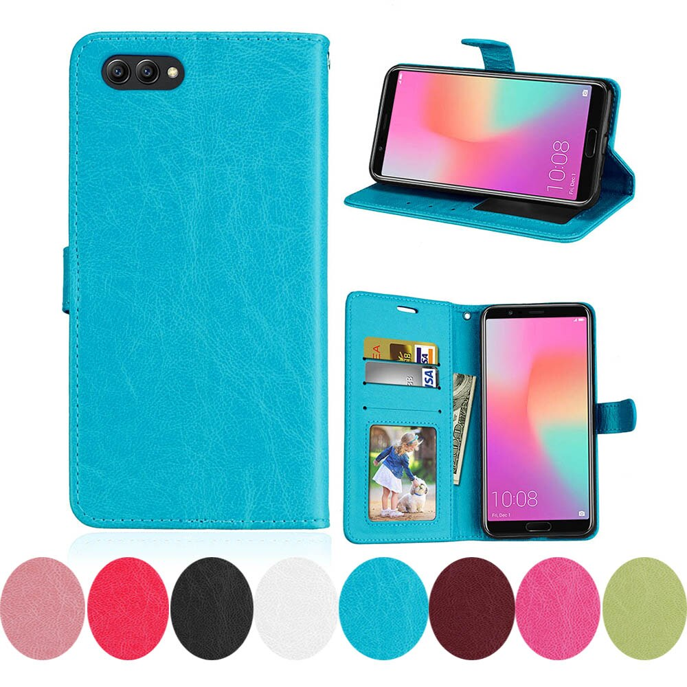 Para Huawei Honor 10 V10 AL00 BKL-AL00 para Huawei Honor V10 caso edición Premium TD-LTE CN BKL-AL20 cuero teléfono con tapa