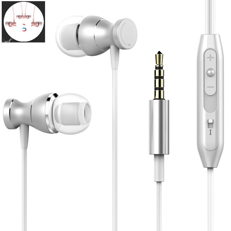 Moda S660 Bass fone de ouvido Estéreo Fone De Ouvido Para Lenovo S660 S660 Auriculares Fones de Ouvido Com Microfone Fones De Ouvido fone de ouvido Fones De Ouvido