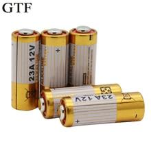 GTF 5 pièces 23A 12V pile sèche alcaline haute tension 23AE 21/23 A23 V23GA MN21 pour calculatrices Keyfob télécommandes alarmes Cell