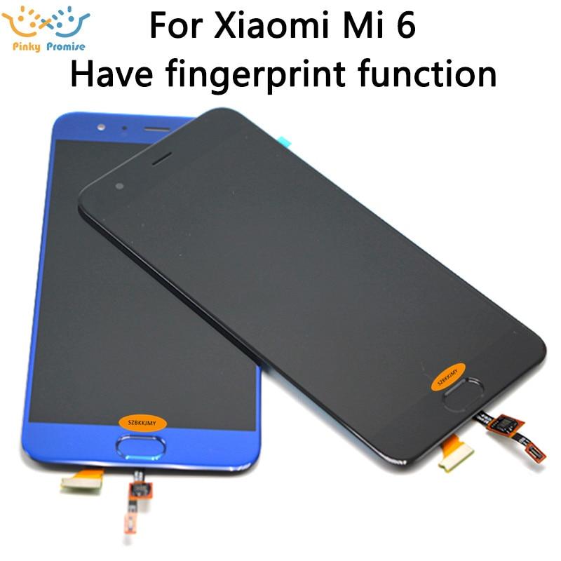 "Xiaomi Mi 6 pantalla LCD + MONTAJE DE digitalizador con pantalla táctil 1920x1080 FHD para 5,15 ""Xiaomi Mi6 LCD reemplazo xiaomi 6 lcd"