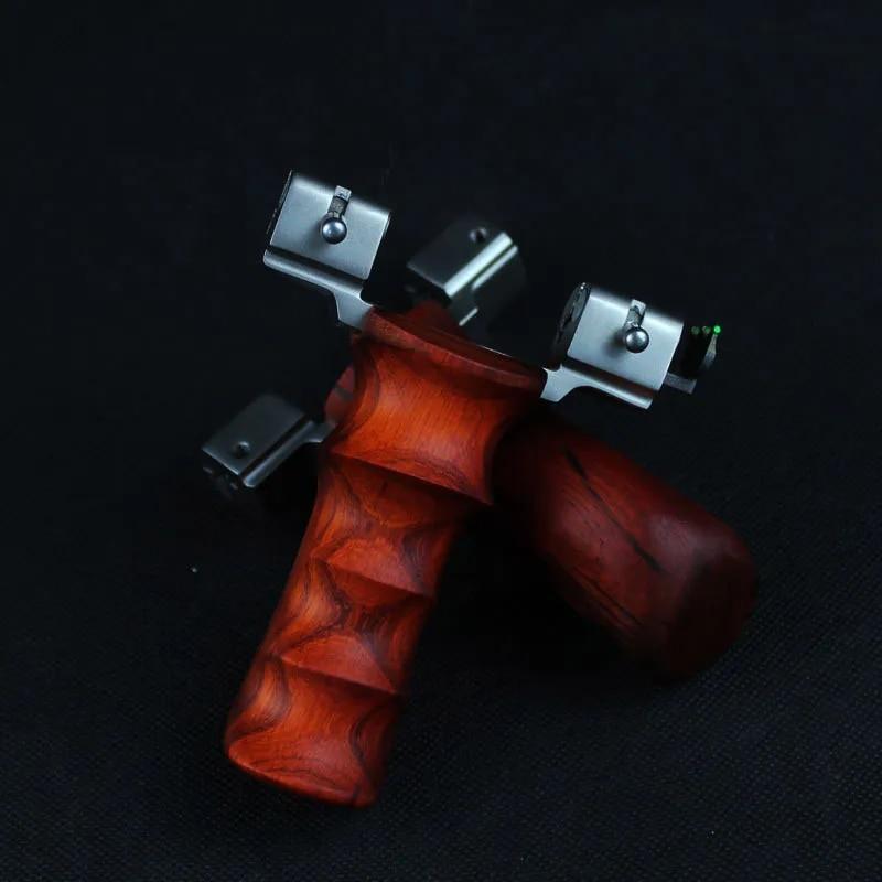 פופולרי עוצמה הקלע בליסטרא חיצוני ציד הקלע נירוסטה עם שטוח גומייה ציד