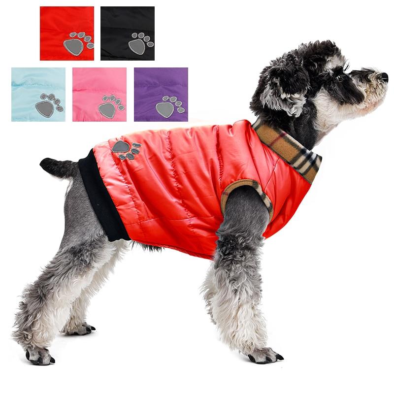 Оптовая продажа! Одежда для собак, зимнее теплое стеганое толстое пальто для собак, куртка для щенков и кошек, одежда от производителя, Одежд...