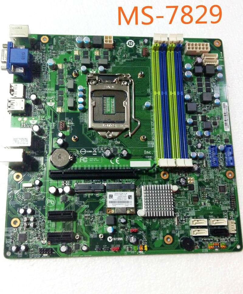 BiNFUL For ACER TC-603 G3 DX4885 G3-605 Desktop Motherboard MS-7829 LGA1150 Mainboard 100%tested fully work