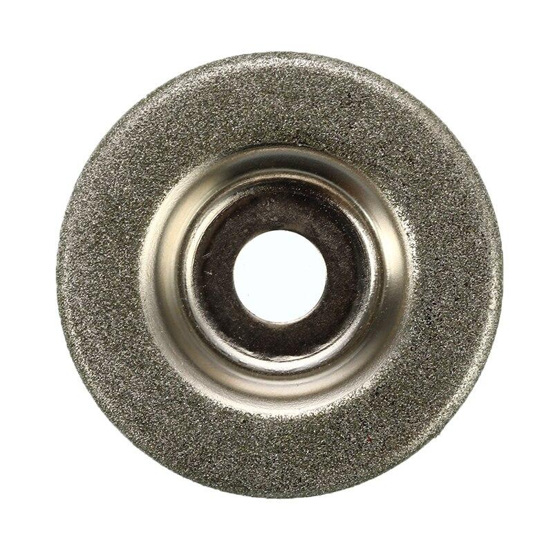 Алмазный шлифовальный диск для вольфрамовой стали, 1 шт., Фрезерный резак, инструмент, точилка, аксессуары, шлифовальные круги