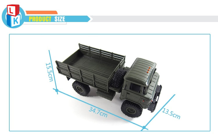 2019 New Type Plastic 1:16 rc Tractor Trailer Trucks with Headlights Remote Control Car 2.4G Wltoys carro de controle remoto enlarge