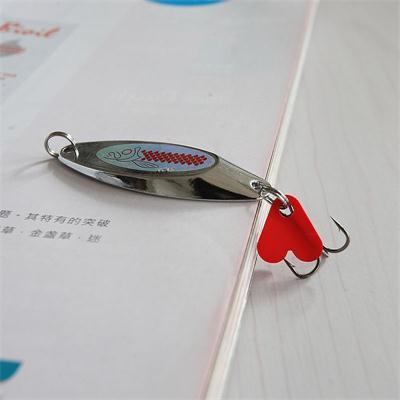 Entretenimiento deportivo práctico anzuelos de anzuelo de alta penetración biselado chafer Paillette pesca cebo Artificial 60mm