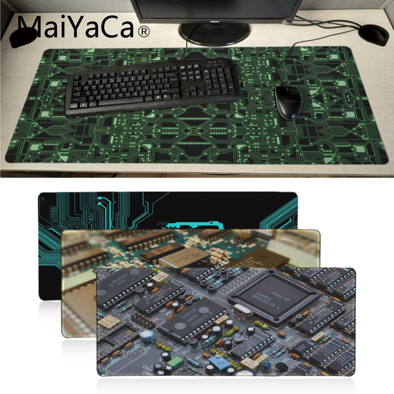 MaiYaCa, tus propias alfombrillas, papel tapiz de circuitos, ordenador portátil, alfombra para ratón teclado, alfombrilla para ordenador, tableta, Gamer, Mouse Pad para juegos