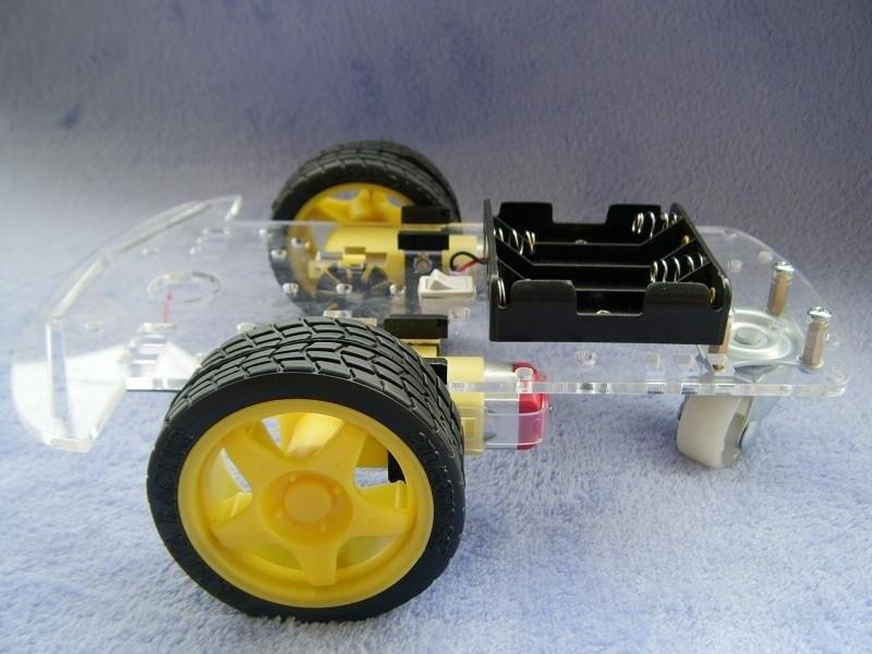 Новый двигатель умный робот шасси авт�
