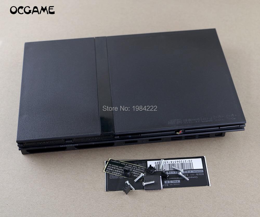 Чехол OCGAME 6 шт./лот, высококачественный корпус для PS2 Slim 7w 70000 7000X, чехол для консоли с этикеткой