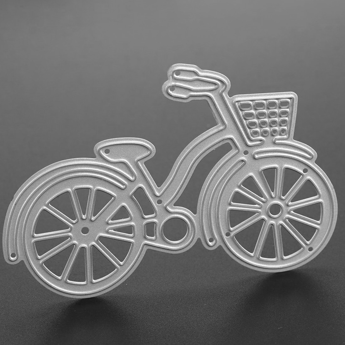 New Arrival  Bicycle cutting dies Metal Cutting Dies Stencils for DIY Scrapbooking dies Decorative Craft Photo Album Embossing