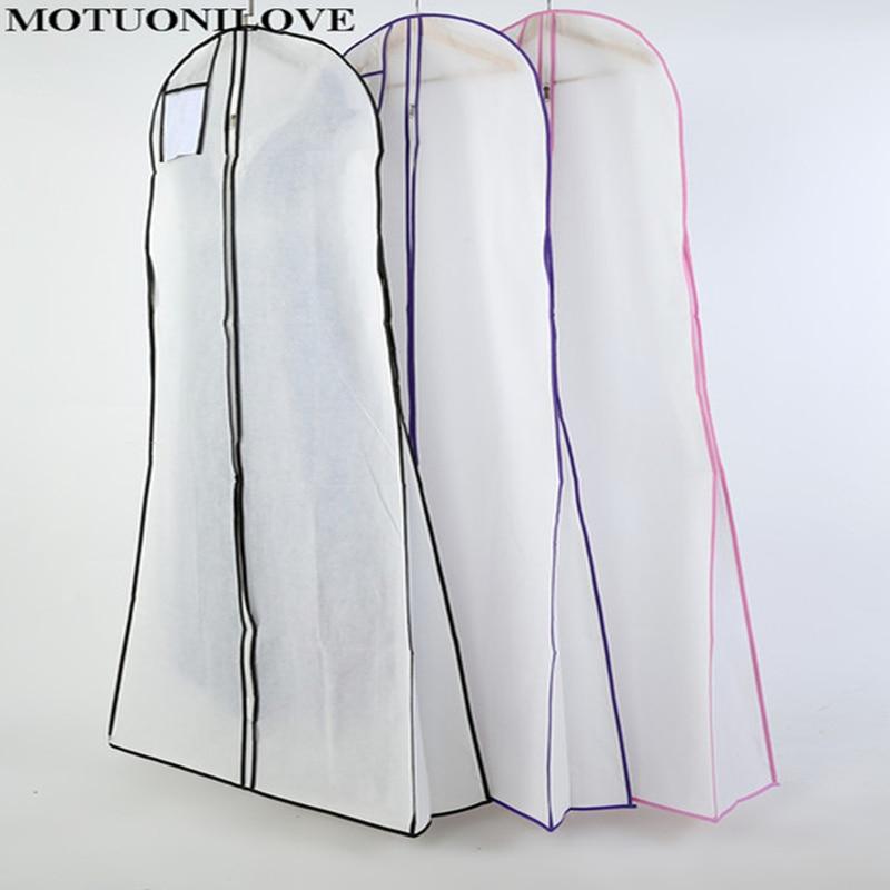 Plus tamanho grande impressão flor à prova de poeira para vestido de noiva vestido de casamento capa protetora de vestuário não tecido sacos de impressão logotipo