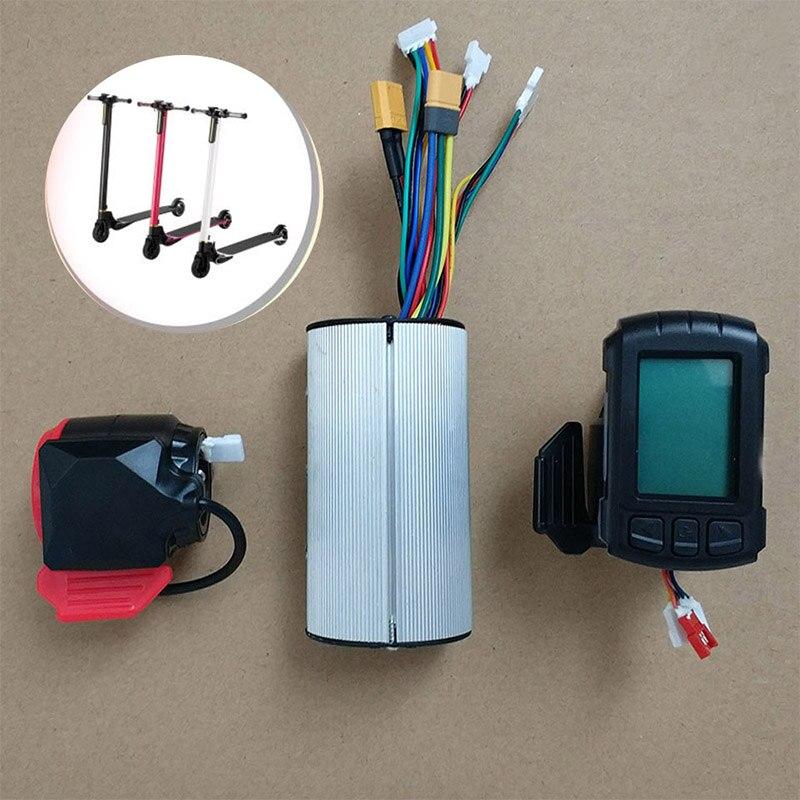 5.5 Polegada adulto scooter elétrico controlador da placa-mãe, acessórios de reparo do painel do acelerador de energia, peças ferramentas para skate