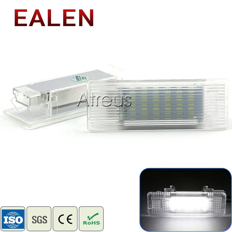 Luces LED EALEN para maletero de coche de 12V para BMW serie 5 E39 E60 M5 E61 F10 F11 GT Accesorios blanco SMD lámpara LED para equipaje