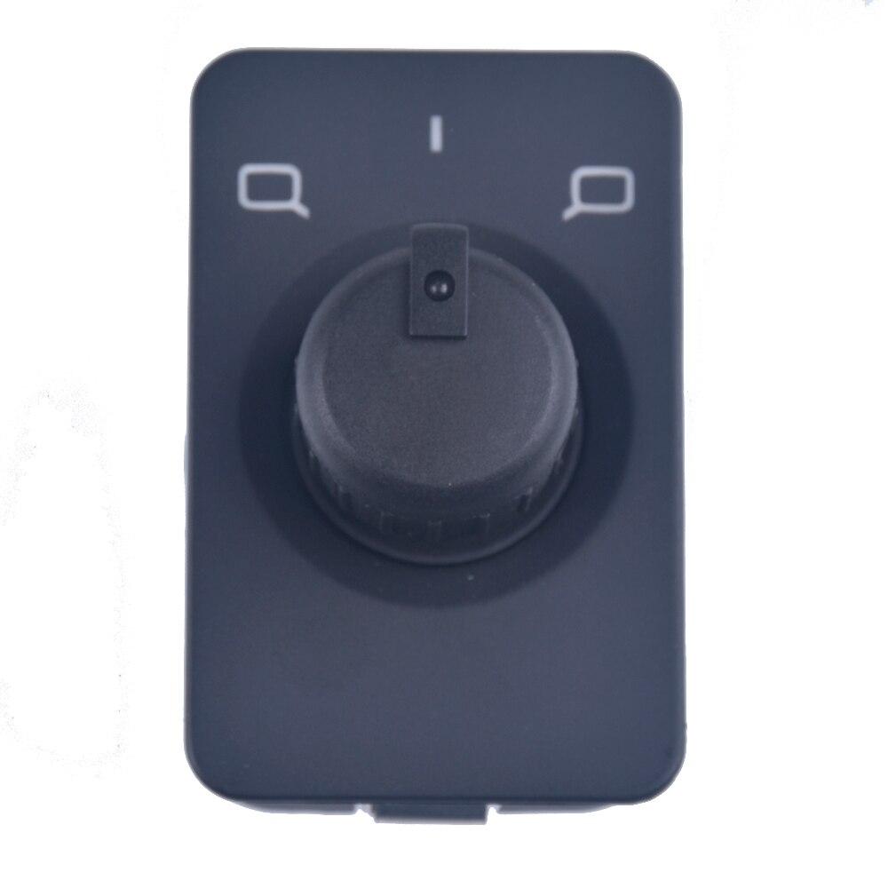 Memória lateral preta do botão de controle do interruptor do espelho para audi a6 c5 1998-2004 4b1959565a 4b1 959 565a