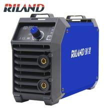 RILAND Double tension 220 V 380 V ARC 200DS MMA Machine à souder Mini Portable électrique travail ARC MMA soudeur onduleur