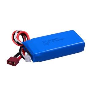 2 шт./комплект, литий-полимерные аккумуляторы 7,4, 2000 В, 12423 мАч
