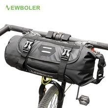 Newboler Bike Voor Tube Bag Waterdichte Fietsstuur Mand Pack Fietsen Voorframe Pannier Fiets Accessoires